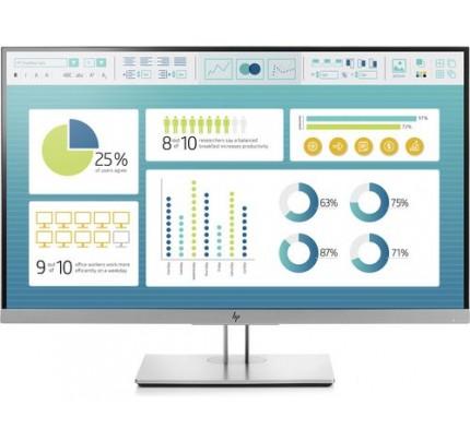 HP EliteDisplay E273 LED display 68,6 cm (27 Zoll) Full HD Schwarz, Silber