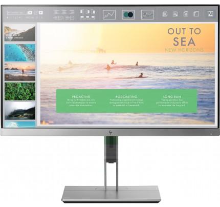 HP EliteDisplay E233 LED display 58,4 cm (23 Zoll) Full HD Flach Schwarz, Silber
