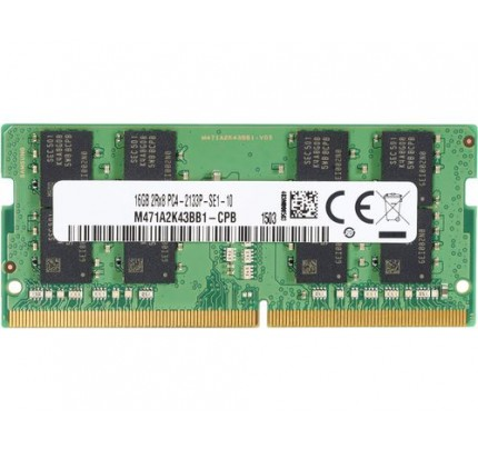 HP 16GB DDR4-2666 SODIMM - 16 GB - 1 x 16 GB - DDR4 - 2666 MHz - 260-pin SO-DIMM