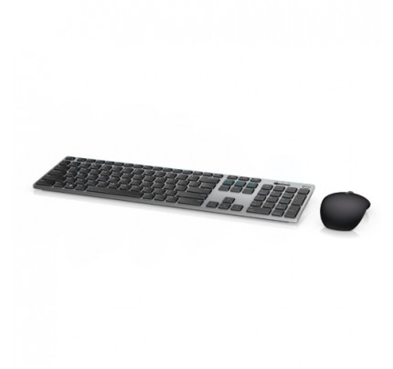 DELL 580-AFQK RF Wireless + Bluetooth QWERTZ Deutsch Schwarz