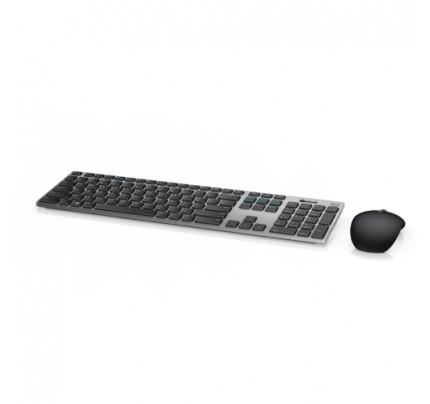 DELL KM717 Tastatur Bluetooth QWERTZ Schweiz Schwarz, Silber