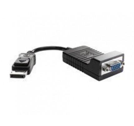 HP DisplayPort-auf-VGA-Adapter - 0,2 m - DisplayPort - VGA (D-Sub) - Männlich - Weiblich - Kupfer