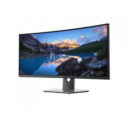 Dell UltraSharp U3419W - 86,7 cm (34.1 Zoll) - 3440 x 1440 Pixel - UltraWide Quad HD - LCD - 8 ms - Schwarz - Grau