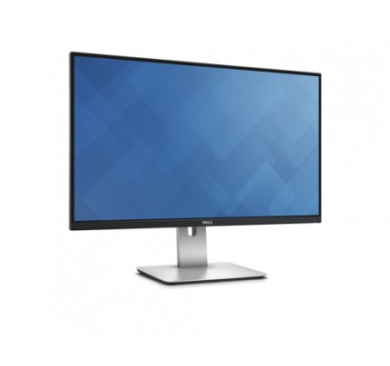 DELL UltraSharp U2715H 27Zoll Wide Quad HD LED Matt Schwarz, Silber Computerbildschirm