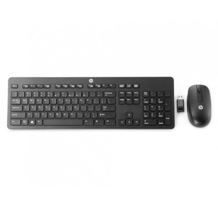 HP Wireless-Business-Tastatur, flach