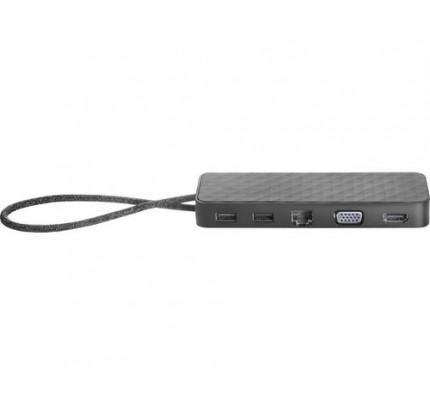 HP USB-C Mini USB 3.0 (3.1 Gen 1) Type-C Schwarz