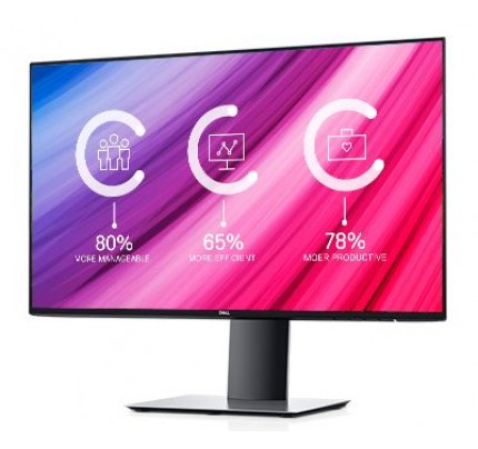 DELL UltraSharp U2419H LED display 60,5 cm (23.8 Zoll) Full HD Flach Matt Silber